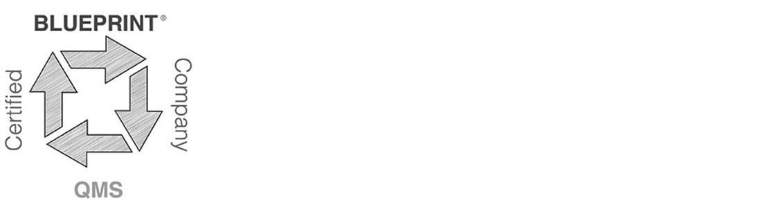 Blueprint/Certified QMS BBB logos